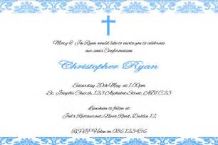 free confirmation invitations