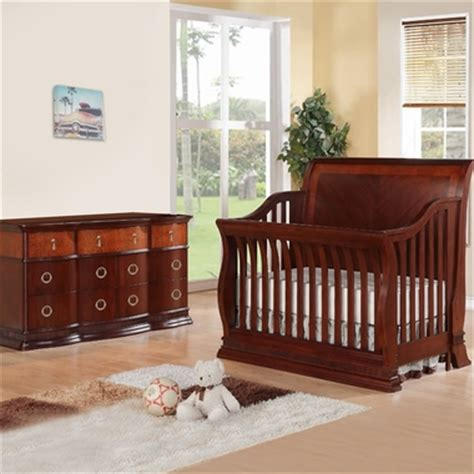Cherry Dresser For Nursery by Munire Portland 2 Nursery Set Convertible Crib And