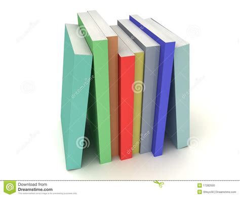 multi books multi colored books line stock photo image 17282500