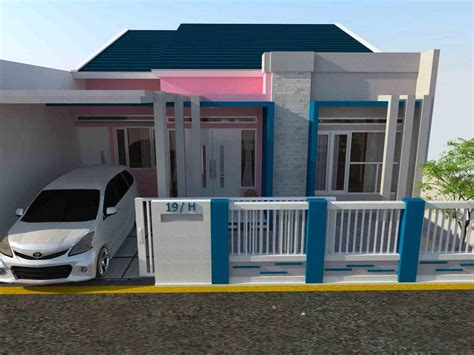 warna cat eksterior rumah minimalis eksterior rumah