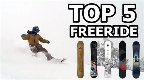 best freeride snowboards top 5 freeride snowboard picks for 2018 board archive