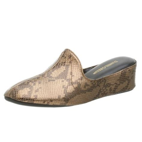 daniel green house slippers buy low price daniel green women s lidia wedge house slipper b001ms71v0 shop slipper