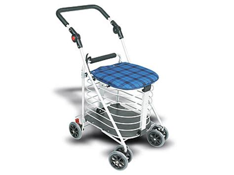 Compact Sit Shopping Cart by Home Pride Tg 432 Compact Seatable Shopping Cart