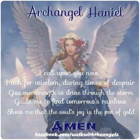 Guardian Haniel 25 Best Ideas About Archangel Haniel On