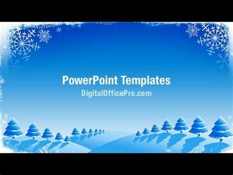 Christmas Card Powerpoint Template Backgrounds Digitalofficepro 07154w Youtube Card Powerpoint Template