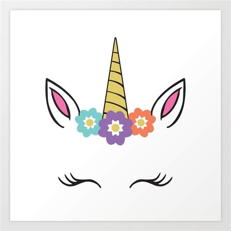 printable unicorn ears unicorn horn and ears silhouette pictures to pin on