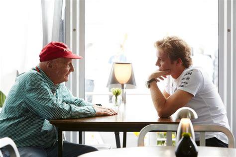 Niki Sues E by F1 Niki Lauda Quot Nico Avrebbe Dovuto Avvisarci Delle Sue