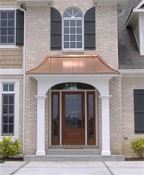 Copper Porch Awning by Best 25 Copper Roof Ideas On Gray Exterior