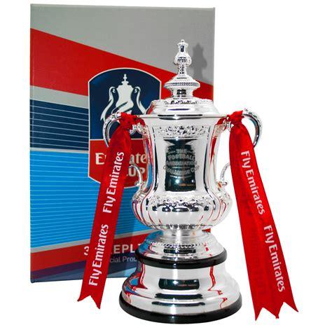 emirates fa cup emirates fa cup replica trophy nfm