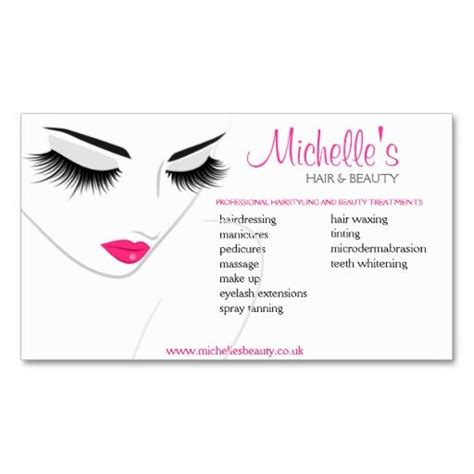 Cosmetology Business Card Templates Free by Hair Salon Business Card Design At Zazzle