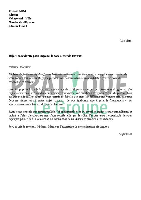Modã Les Lettre De Motivation D ã Tã Lettre De Motivation Pour Emploi Formateur Application Cover Letter