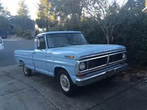 1970s Ford Trucks For Sale 1970 Ford F100 For Sale Blue 1970 Ford F 100 Truck In