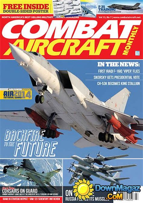 combat aircraft monthly july