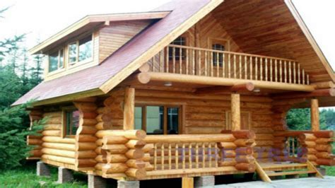Build home design, build small wood house small cabins