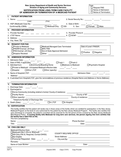 9 best images of free printable hospital discharge forms