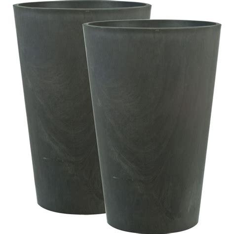 tierra verde 14 in x 27 5 in slate rubber self watering
