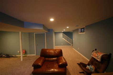 basement bedroom egress basement finish basement bedroom drywall soffits basement carpet egress window white trim
