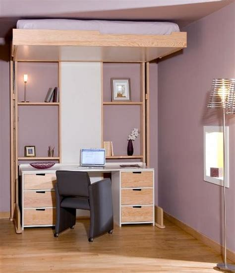bett an der decke sleek mobile beds that can be elevated to make