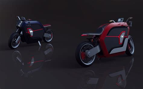 Audi Motorcycle by If Audi Made Motorcycles Yanko Design