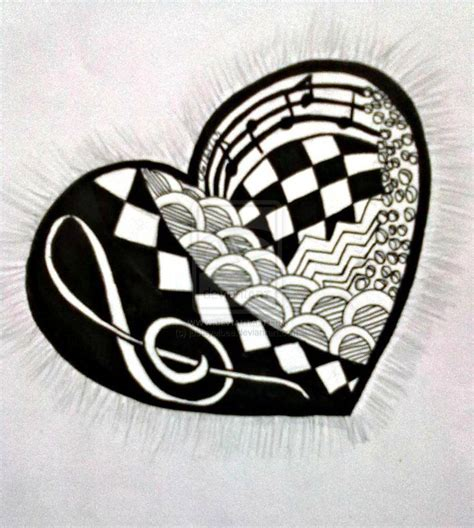 heart zentangle pattern 69 best zentangle patterns images on pinterest to draw