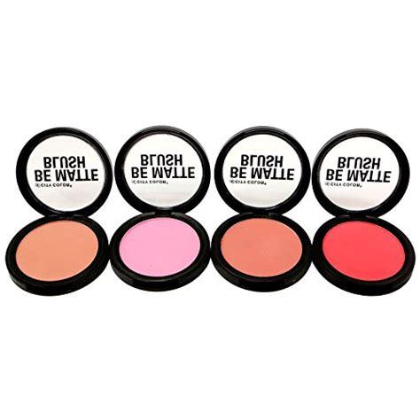 City Color Be Matte Blush 1 city color cosmetics be matte blush color c0003a set of 4 import it all