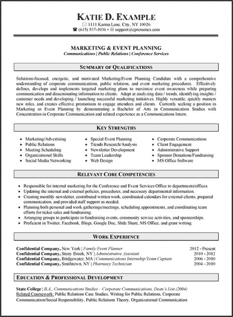 communications resume exles professional resume writing services careers plus resumes