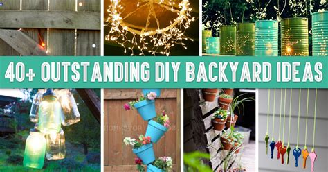 Diy Decorations by 40 Outstanding Diy Backyard Ideas