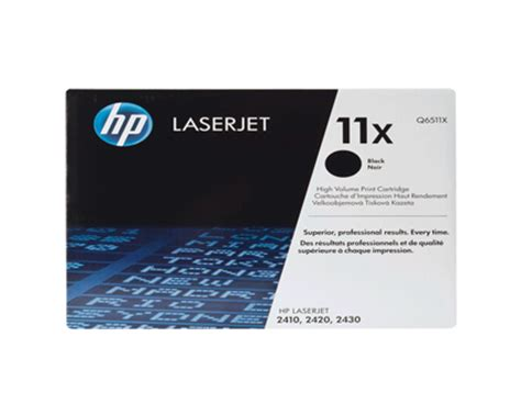 Toner Leserjet 11 A Original hp 11a black original laserjet toner cartridge q6511a