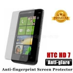 Anti Gores Glare Hd Htc One premium matte anti glare htc hd7 screen protector