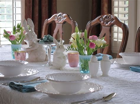 Spring Tablescape | spring tablescapes lori s favorite things