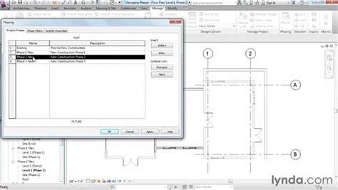 revit tutorial phases managing phases
