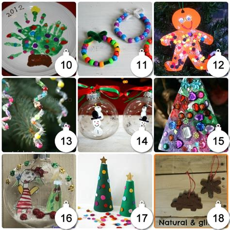 70 christmas arts crafts for kids