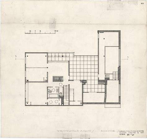 alvar aalto floor plans the aalto house 183 finnish architecture navigator