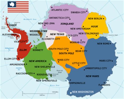 antarctica map with country names and capitals united states of antarctica microwiki