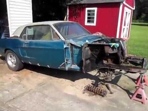 mustang frames 1968 mustang frame rust repair
