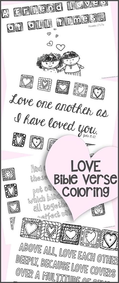 bible coloring pages about love free love bible verse coloring pages