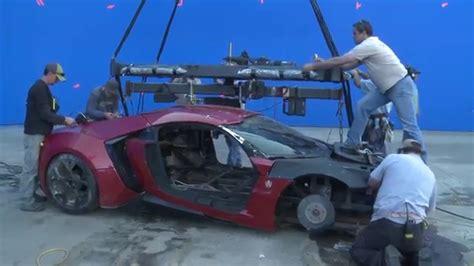 Fast Furious 155 Lykan Hypersport fast furious 7 lykan hypersport crash paul walker and vin diesel the