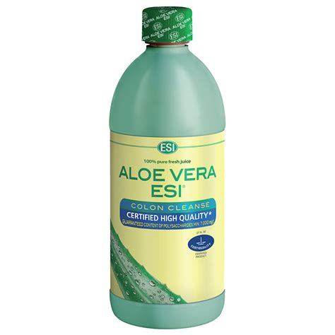 Aloe Diet Detox by Puro Succo Di Aloe Vera Colon Cleanse Esi S P A