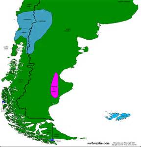 map patagonia south america patagonia mapa 252 237 stico linguistic map