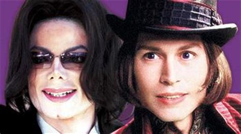 crispin glover charlie and the chocolate factory a michael jackson willy wonka no way says depp