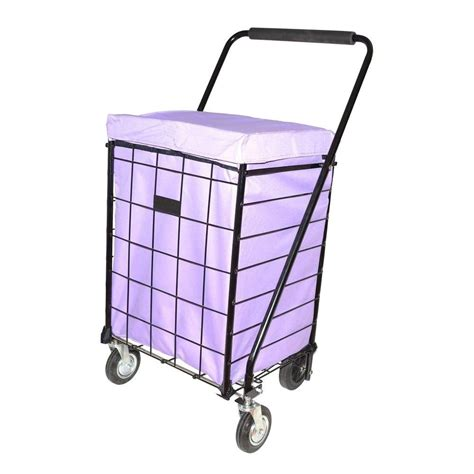 easy wheels mini a shopping cart in blue 033bl the home