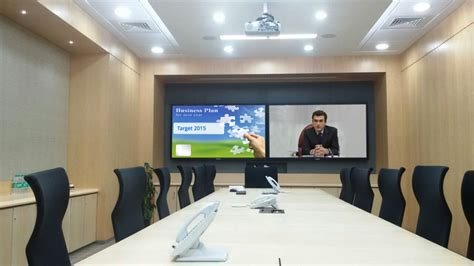tech room and board look boardroom and vc rooms with multi person skype support