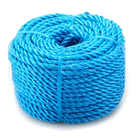6mm Polypropylene Rope - 6mm x 220m blue heavy duty poly rope coils polypropylene