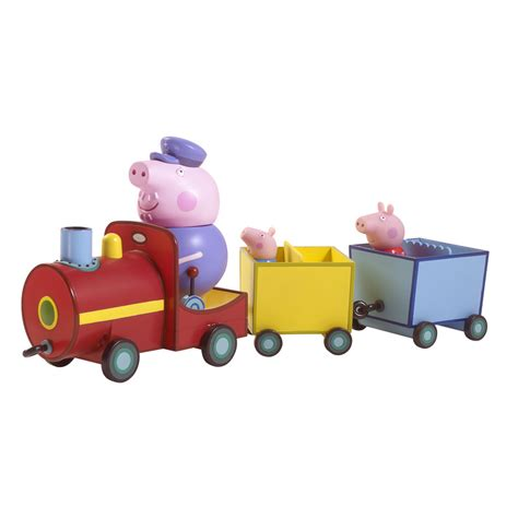 Patio Gifts by B Amp M Peppa Pig On Grandpa Pig S Train 238248 B Amp M