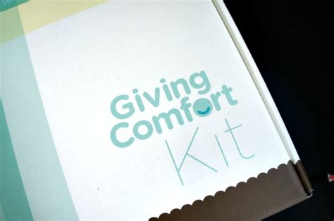 giving comfort send a little comfort to a cancer patient with comfort kit