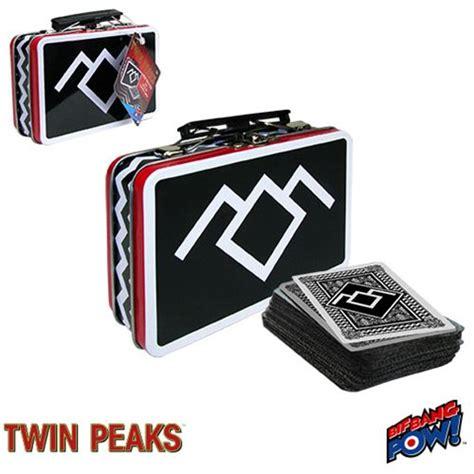 Twin Peaks Gift Card - twin peaks mini tin tote with deck of playing cards bif bang pow twin peaks