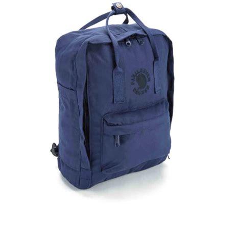 Fjallraven Re Kanken fjallraven re kanken backpack midnight blue