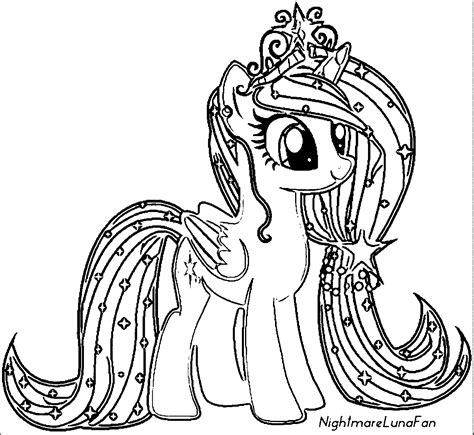 My Little Pony Coloring Pages With All Ponies Coloring Home My Pony Color Page