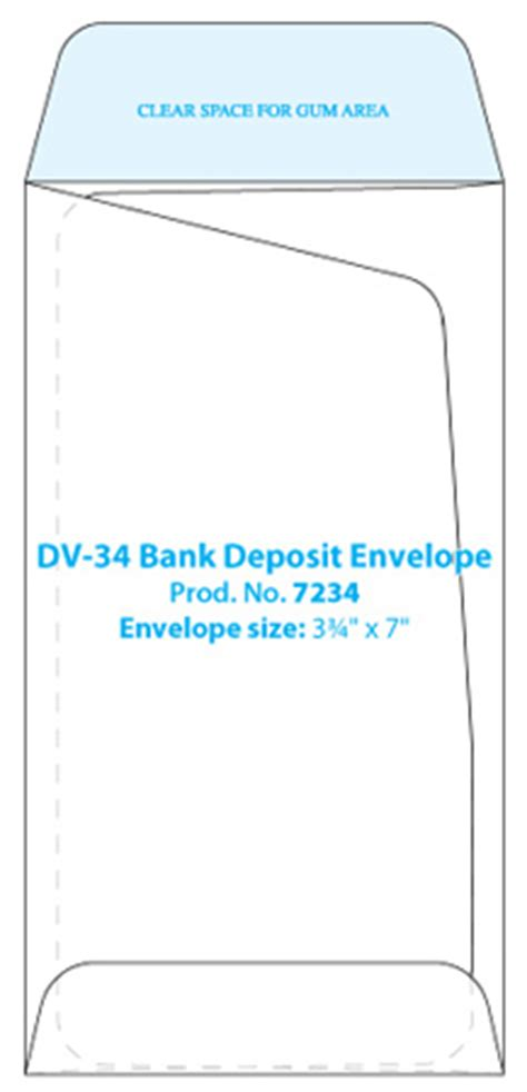 ticket envelope template bank deposit jewelry envelope template western states
