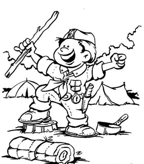 eagle scout coloring page boy scouts boy scouts ready for adventure coloring